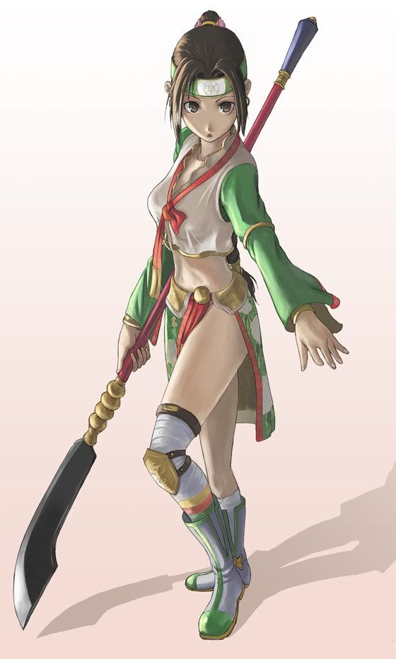 Seung Mina, an Korean Naginata user from the Soul Caliber ...