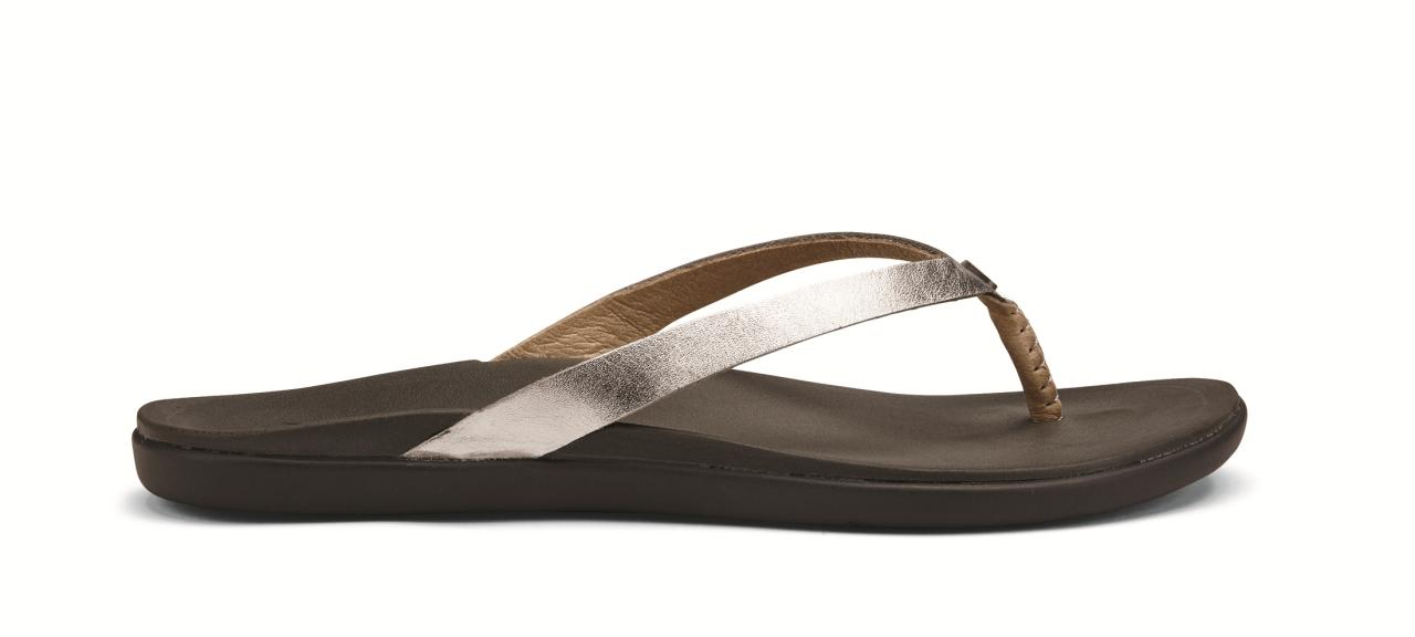 Plaka Sandals Palm Leaf Classic Black