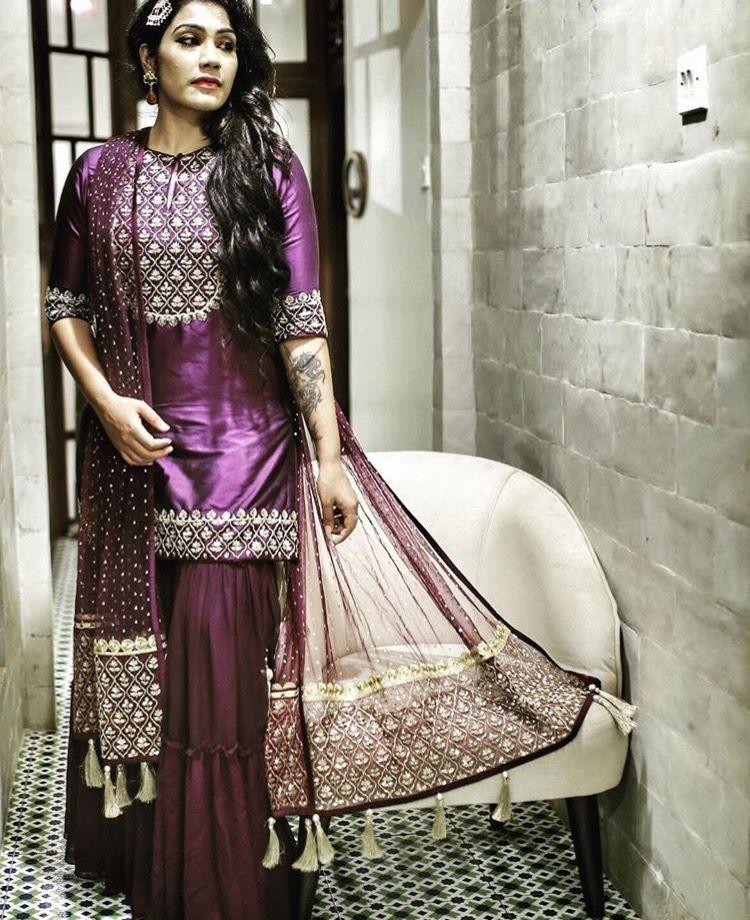 1a5463d04c Pinterest: @pawank90 Pakistani Suits, Indian Suits, Punjabi Suits, Indian  Wear,