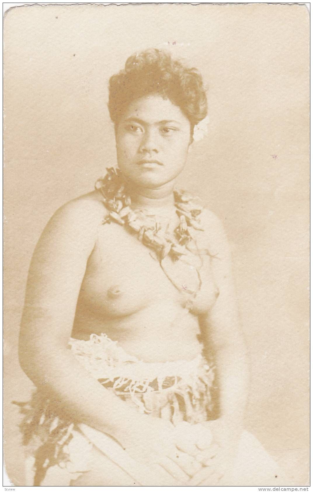 Topless women in samoa
