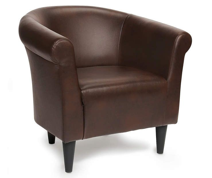 Chestnut Brown Tub Chair