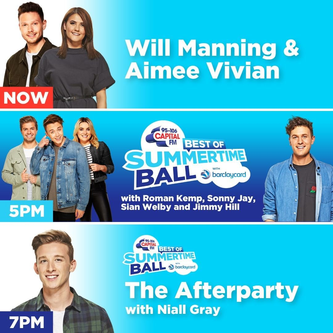 Capital On Instagram We Re Bringing You Bestofcapitalstb All Day On Capital Itswillmanning Aimeevivian Are Getting Y Instagram Bring It On You Got This