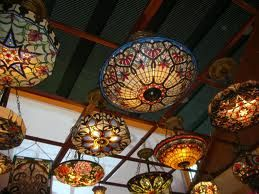 gorgeous tiffany lamps