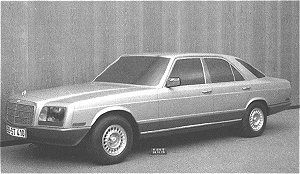OG |1981 Mercedes-Benz S-Class - W126 | Prototype from 1975