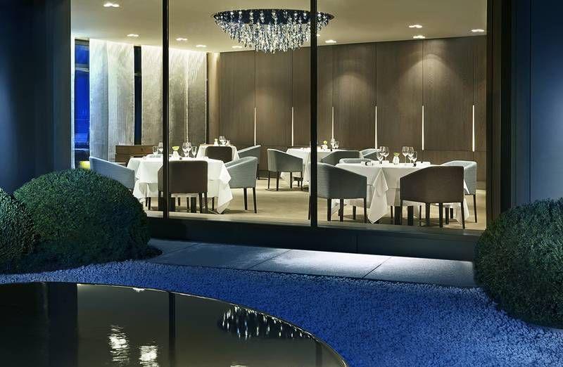 Wir haben das 3-Sterne-Restaurant AQUA und den Meister ...