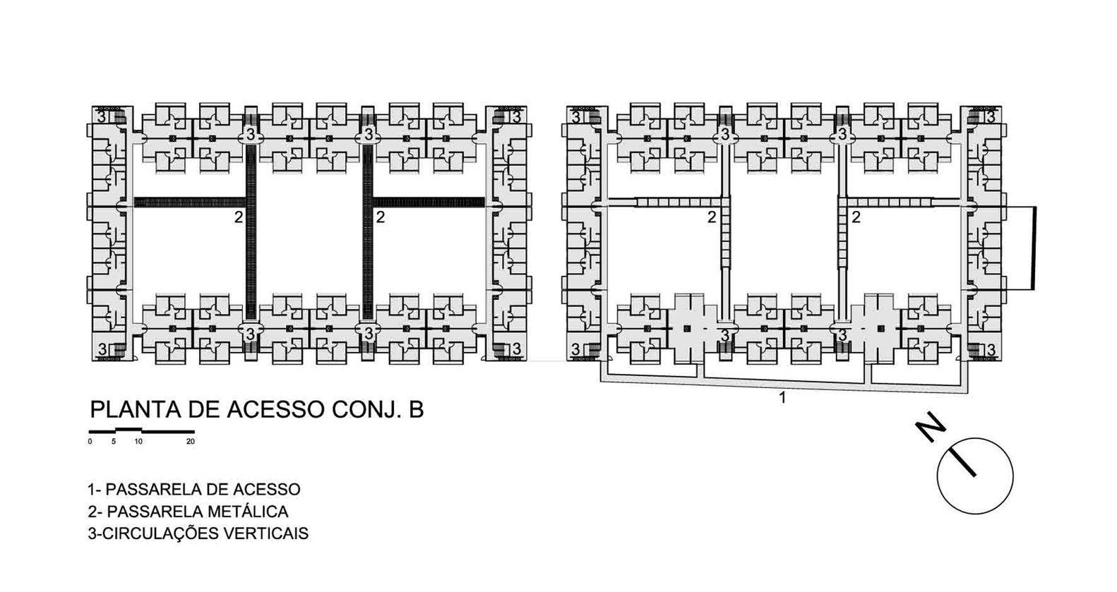 Galería de Vivienda Social Heliópolis / Biselli Katchborian Arquitetos - 20