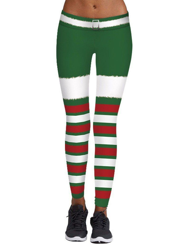 f7ff415900 Christmas Elf Leggings Womens Workout Yoga Tights | Products