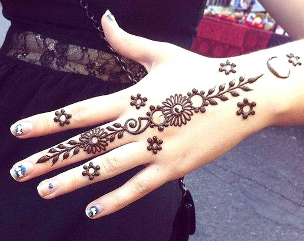 Simple Beautiful Henna Designs For Eid Henna Designs Easy Henna