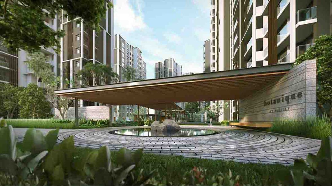Botanique at bartley condo singapore new launch by uol for Home garden design singapore