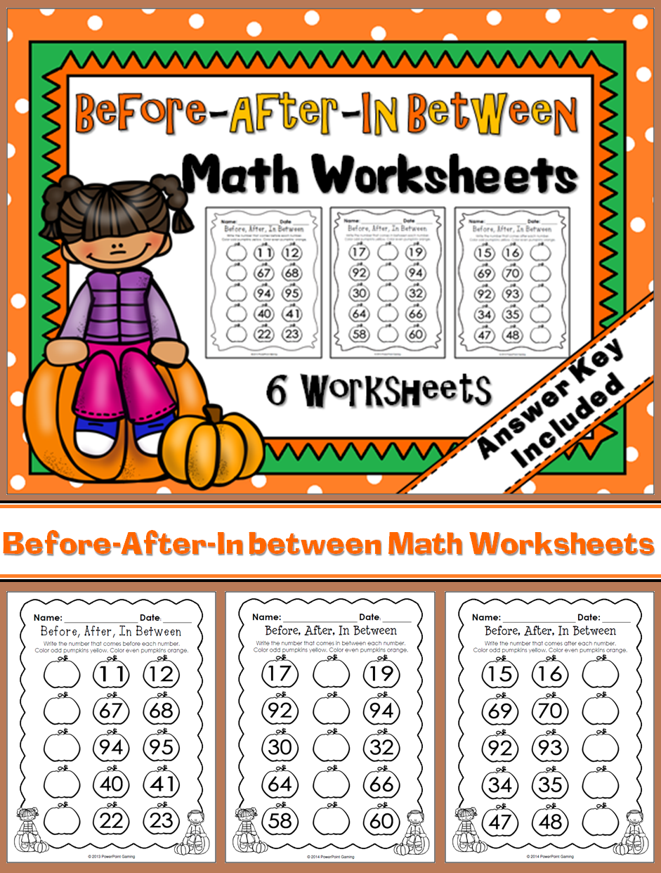Practice Countinn With This 6 Worksheet Set Students Are To Write The Numbers That Come B Math Activities Elementary Fun Classroom Activities Learning Science [ 1242 x 941 Pixel ]