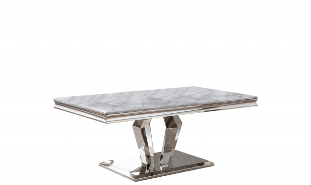Missano Coffee Table Grey Marble Top Coffee Table Grey Sideboard Furniture Marble Top