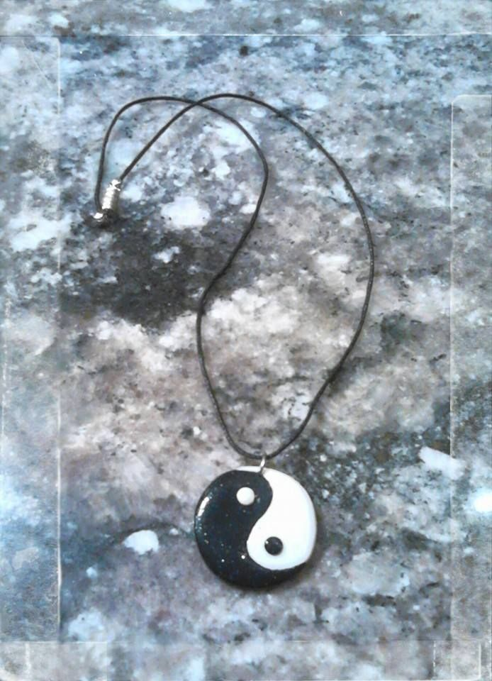 Collier ying-yang