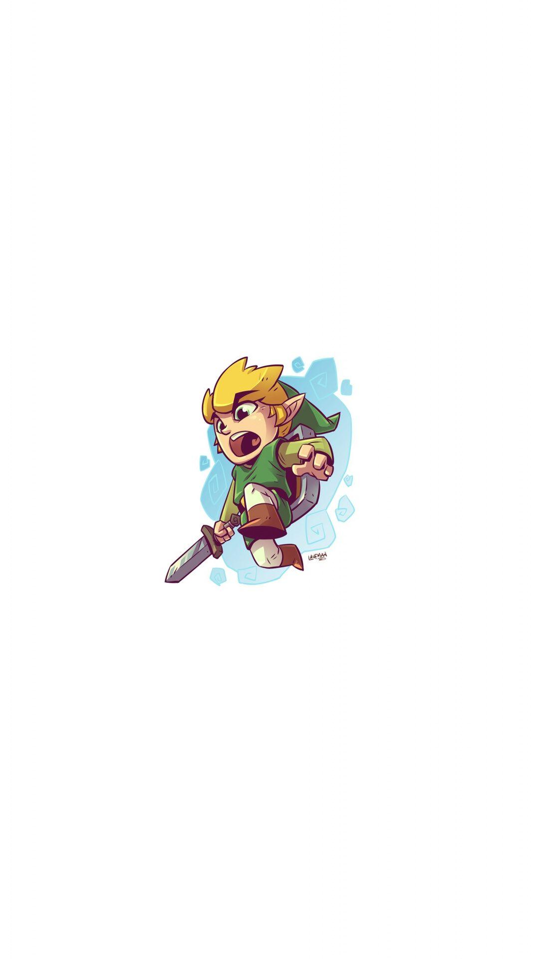 The Legend Of Zelda Link Minimal Art Wallpaper Legend Of Zelda Zelda Legend