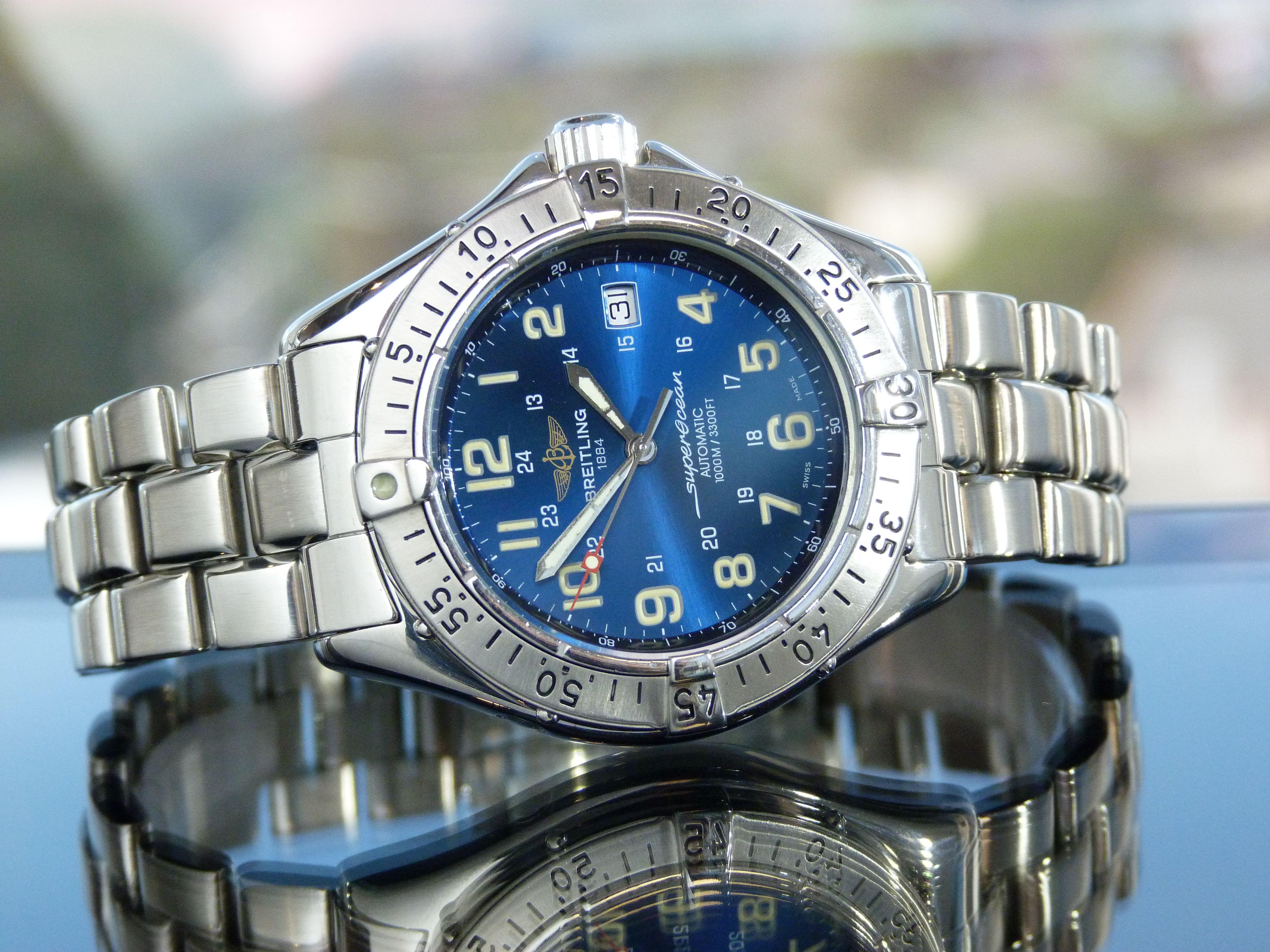 59549815794 Breitling Superocean 1000m Automático Ref.  A17040  breitlingwatches   breitling  watchtrade
