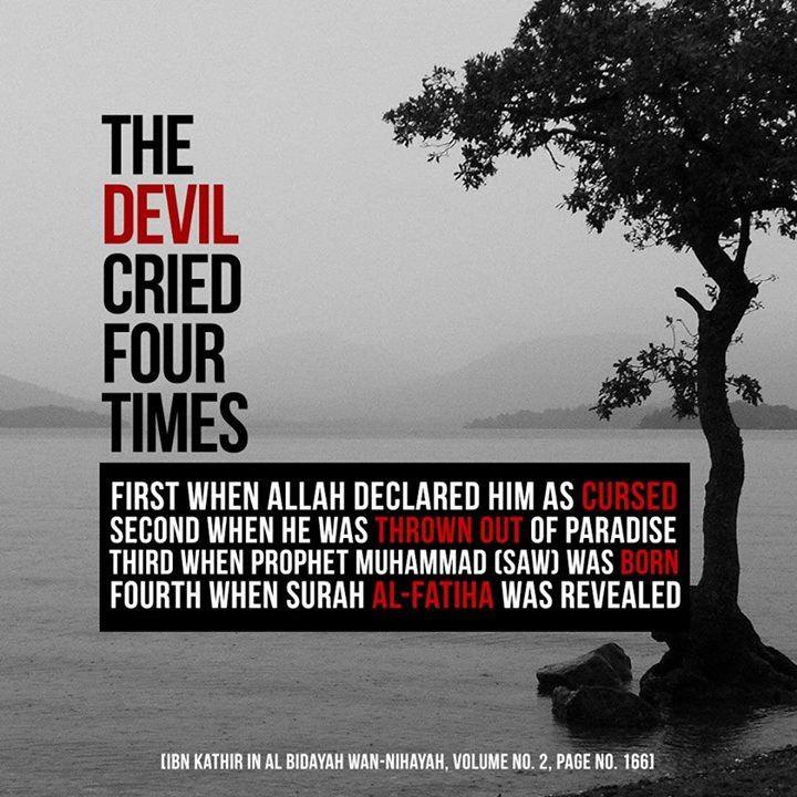 Devil cried 4 times