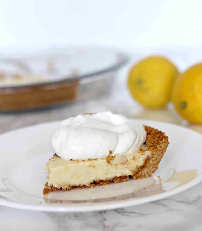 Old fashioned lemon icebox pie 89