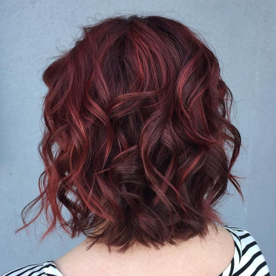Top vibrant shades of burgundy hair color latest hairstyles for