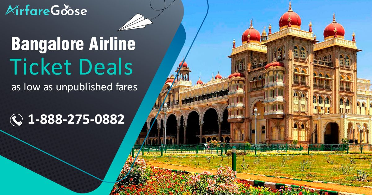 Enjoy great travel offers from #Canada to #Bangalore flights. Book your tickets on #Airfaregoose to Bangalore at an affordable price! Contact us today!  For more information, call us at -1-888-275-0882 (Toll-Free).  #holidaymood #traveltobangalore #SpecialDeals #flightstobangalore #traveltips #Attractions #Airfare #discount #CandatoIndia #planningholidays #tourism #CheapAirTickets #CheapFlightTickets #TravelOffers