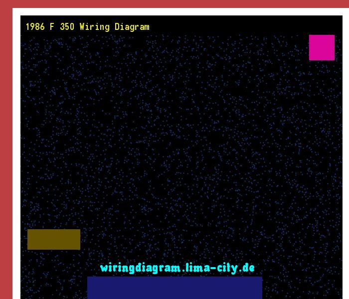 1986 f 350 wiring diagram. Wiring Diagram 185731 ...