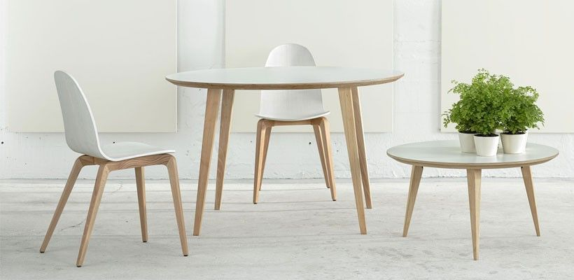 Table de Repas Ronde Bob - Design Ondarreta | Salon | Pinterest ...
