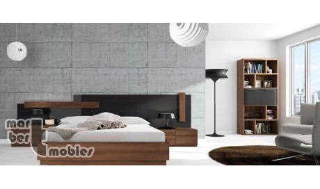 Dormitorio de matrimonio con canapé abatible Neox 22   Dulces sueños ...