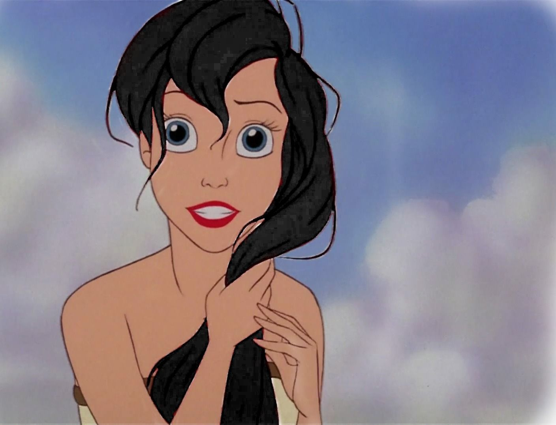 Hair color not hair style poll results disney princess fanpop - Ariel With Black Hair Disney Princess Photo Fanpop