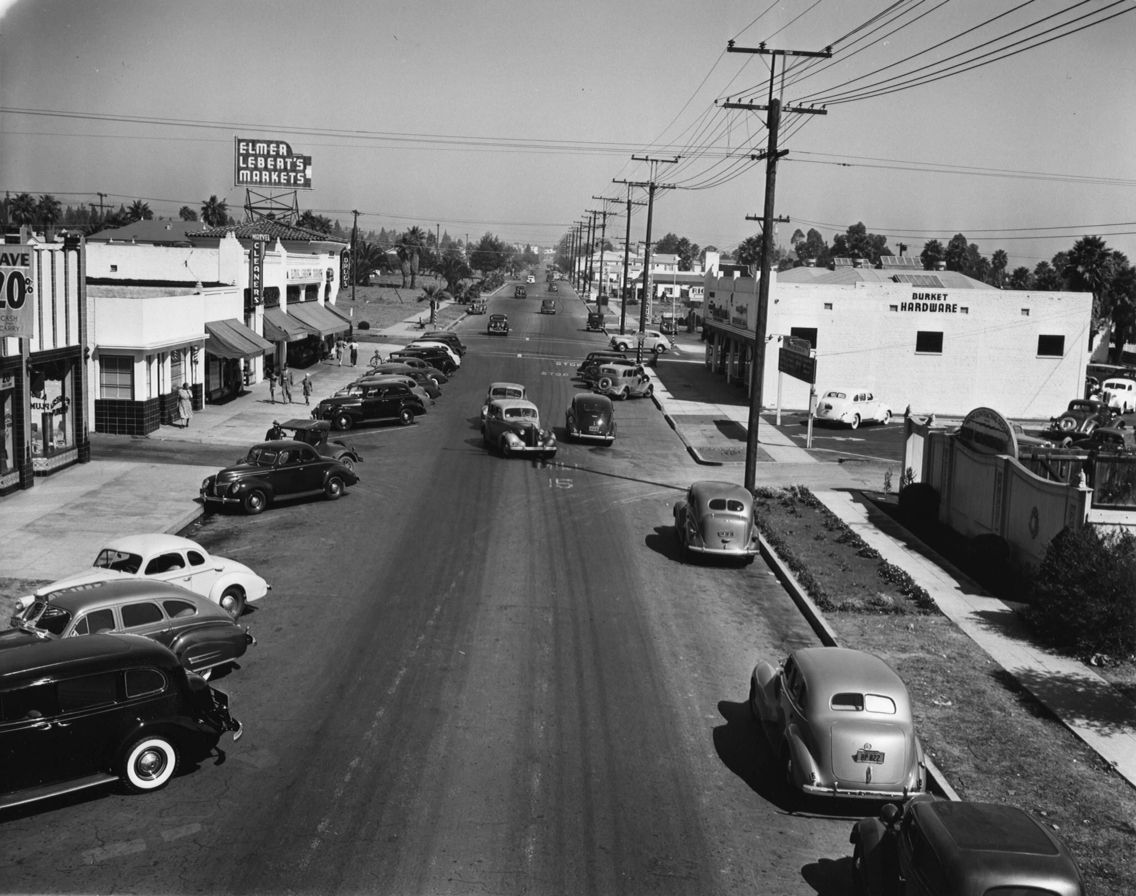 Montana Ave, Santa Monica 1940's...Home at this point....2014