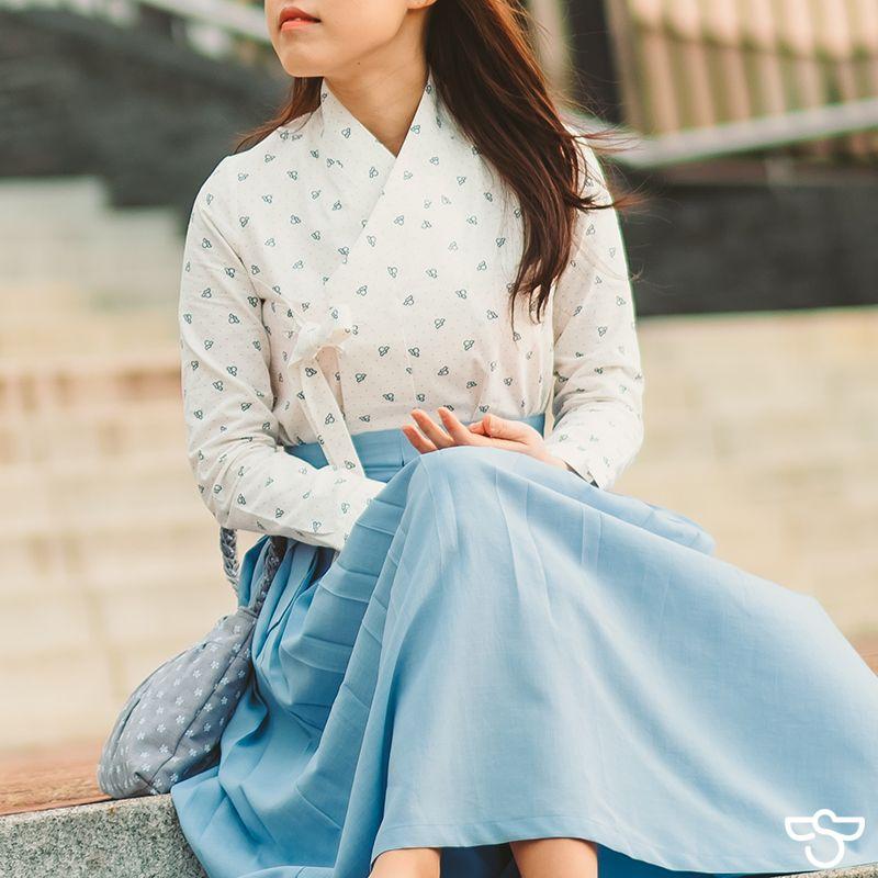 Modern fashion hanbok from Sodan Hanbok