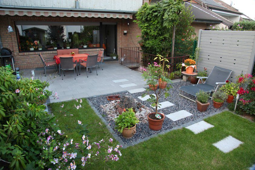 16 Garten Design Reihenhaus Bilder Small Gardens Small Garden Garden Design