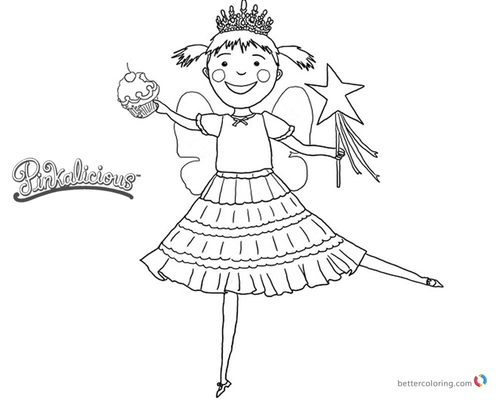 Pinkalicious Printable Coloring Pages