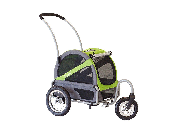 DoggyRide Mini Dog Stroller, Spring Green/Grey >>> For