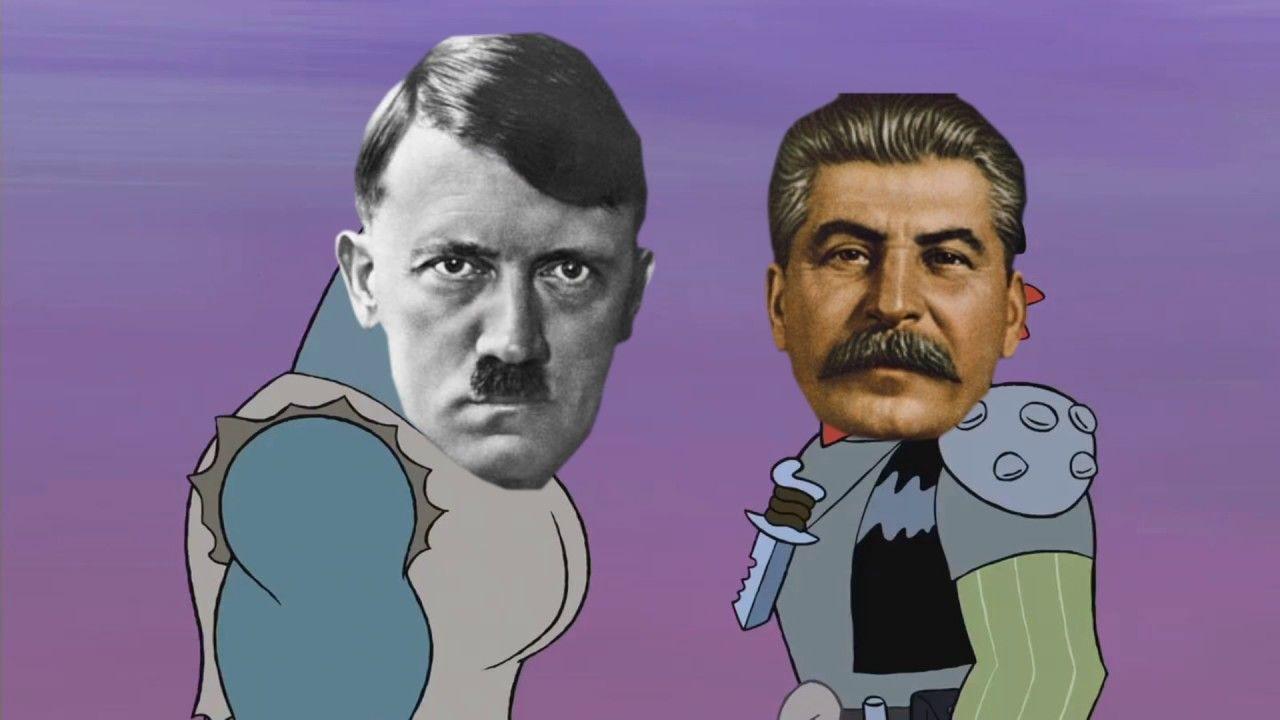 Ww2 germany vs soviet union in a nutshell spongebob