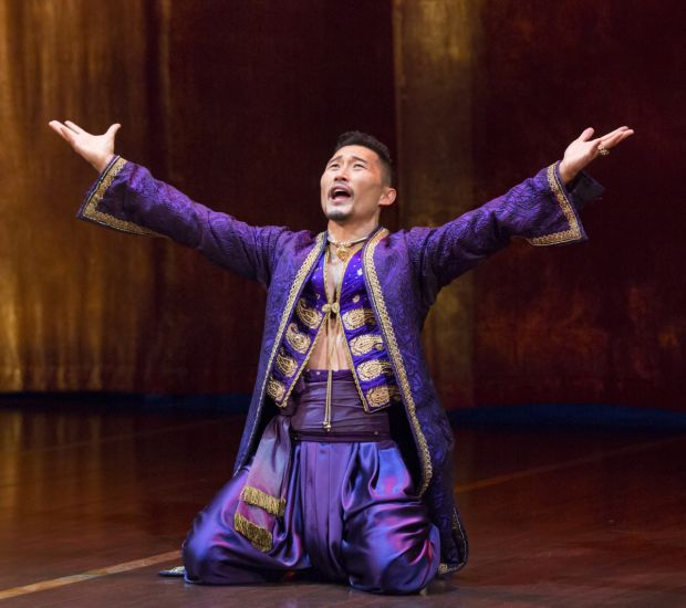 Marin Mazzie and Daniel Dae Kim Star in Broadway's The King and I - TheaterMania.com