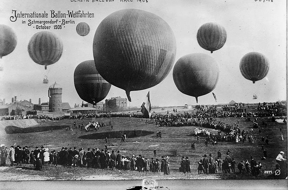 Birmingham was the host for the international balloon race