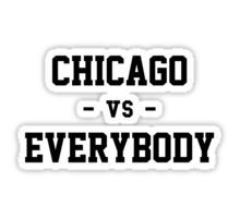 Chicago Bulls Stickers Detroit Vs Everybody Detroit Stickers