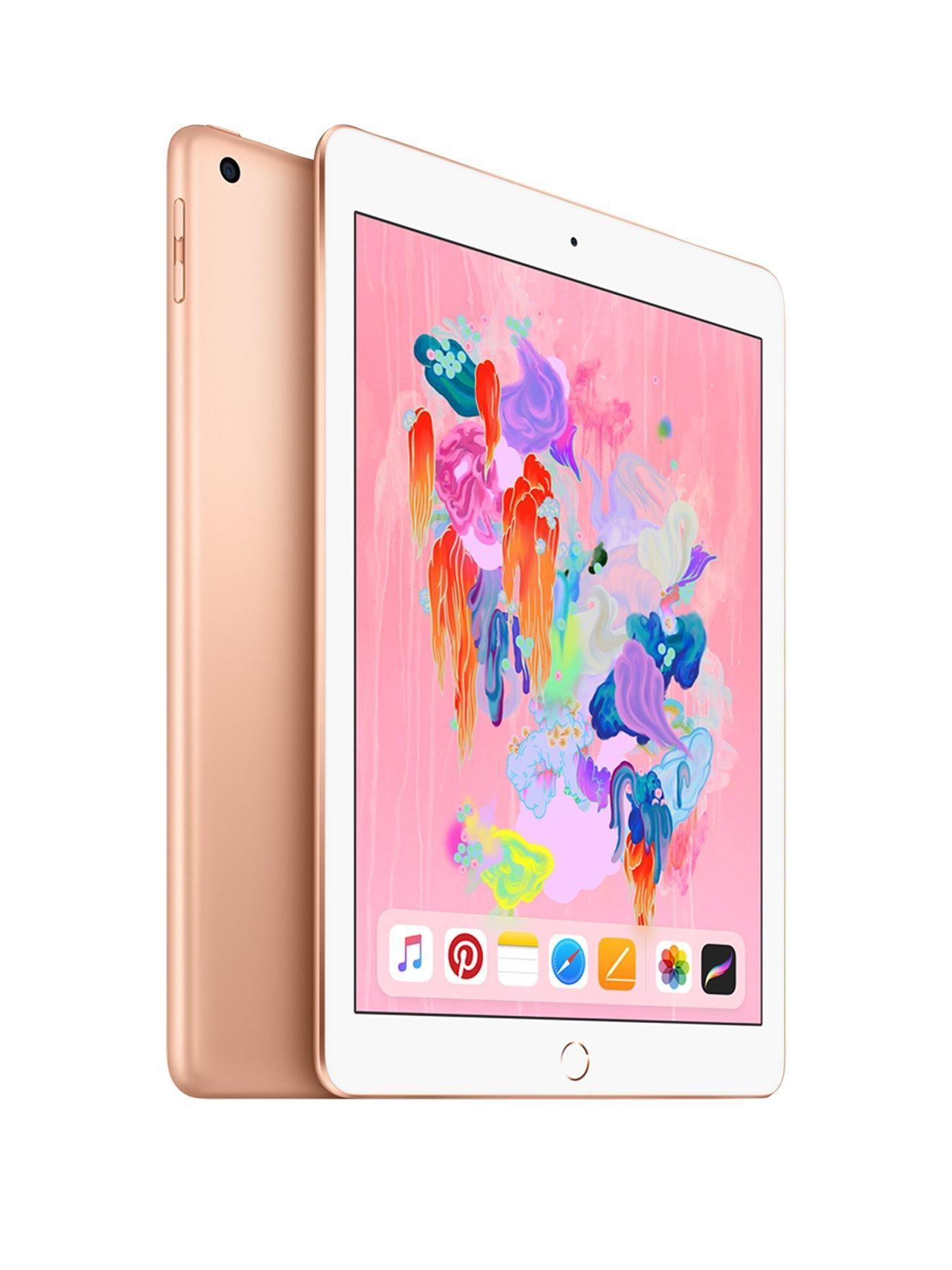Ipad 2018 128gb Wi Fi 9 7in With Optional Apple Pencil Gold Apple Ipad Ipad 32gb Ipad