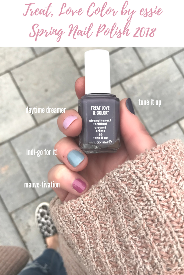 Nail Polish Shades 2018 With Essie   Pinterest   Spring nails and ...