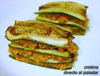 Lasa a vegetariana a la bolo esa receta recetas - Comidas vegetarianas ricas ...