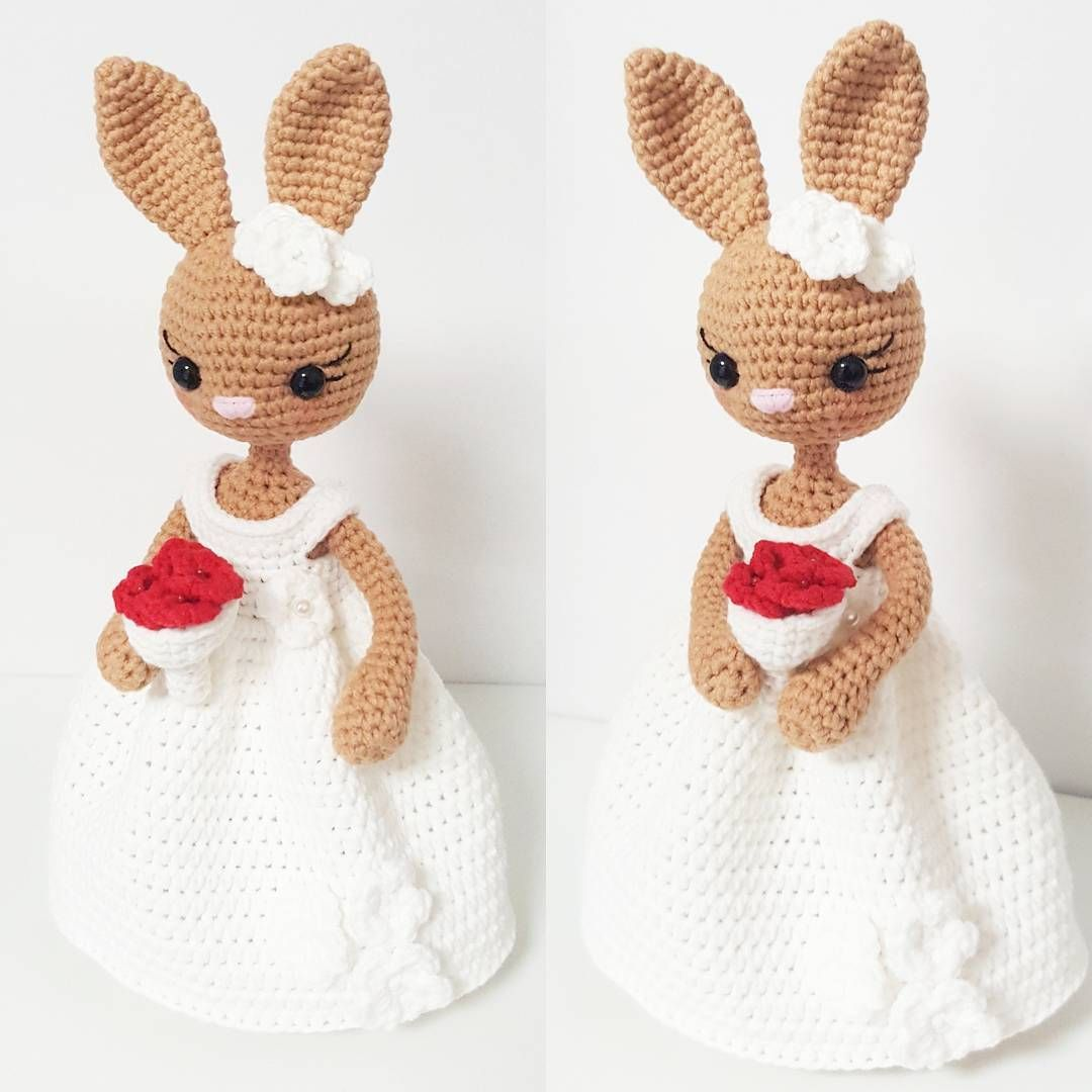 Amigurumi bride | haakprojectjes | Pinterest | Manta de cuadrados de ...