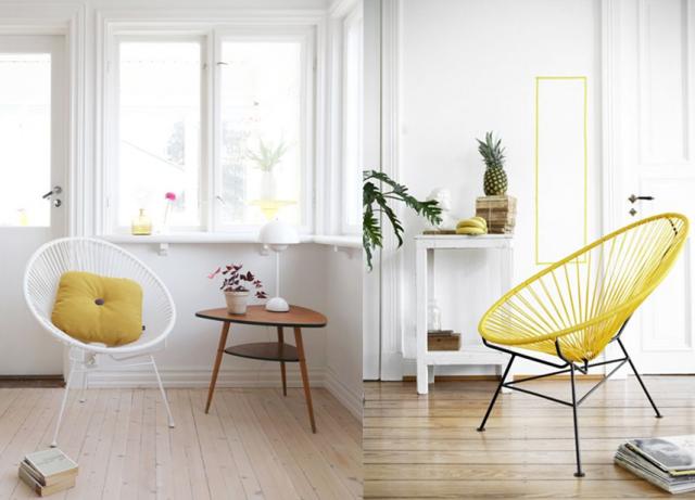 finest une chaise acapulco luintrieur joli place with fauteuil acapulco vert d eau. Black Bedroom Furniture Sets. Home Design Ideas