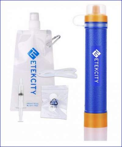 Etekcity Water Filter Set Portable Water Filter Camping Water Filter Camping Water