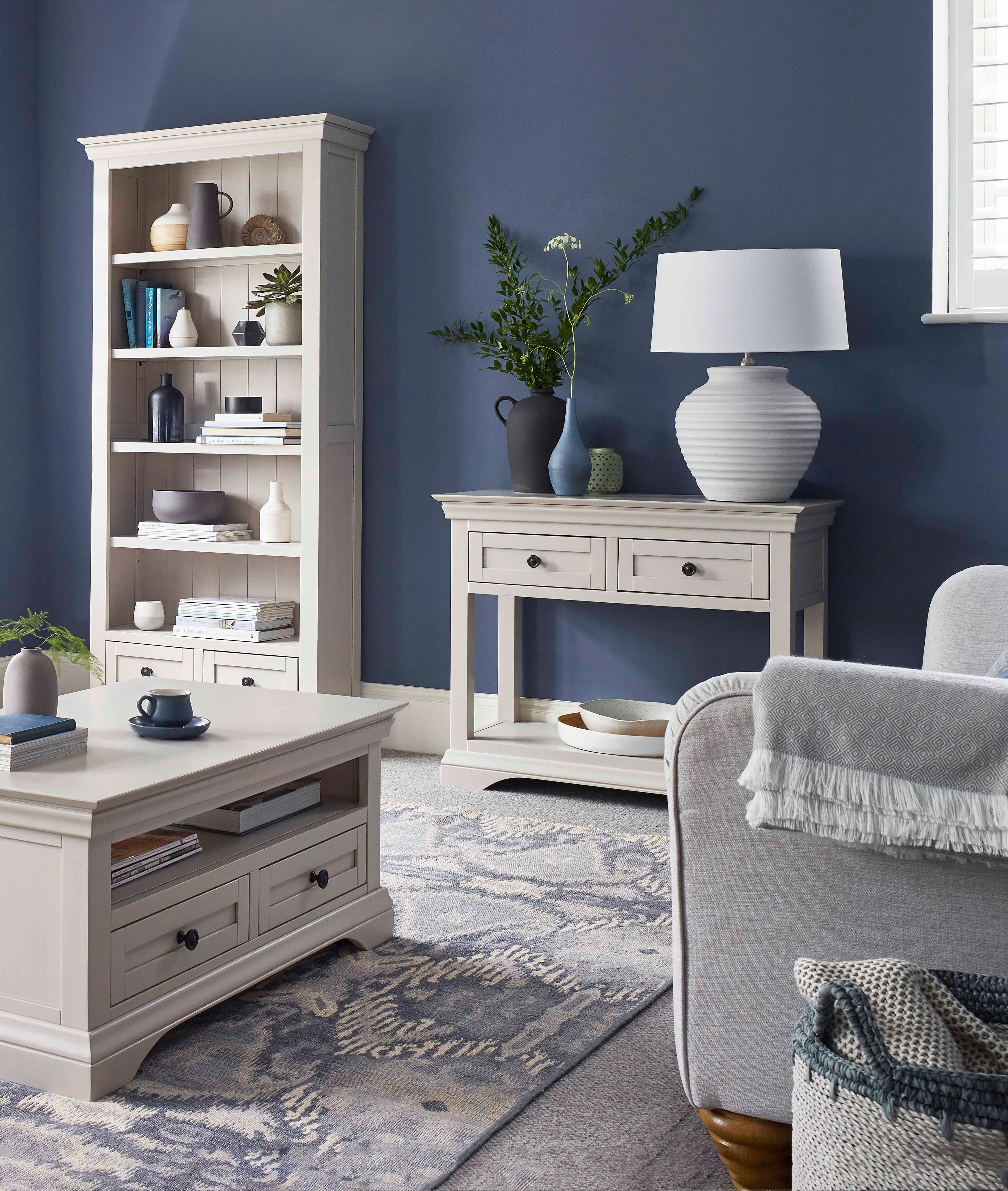 How To Style White And Grey Painted Furniture By Oak Furniture Land The Oak Furniture Land Blog Grey Painted Furniture Furniture Oak Furniture Land