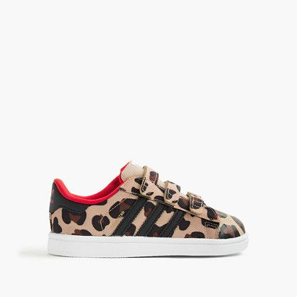 3563ddd28ba Girls' Adidas® Superstar sneakers in cheetah | Photography | Nike ...