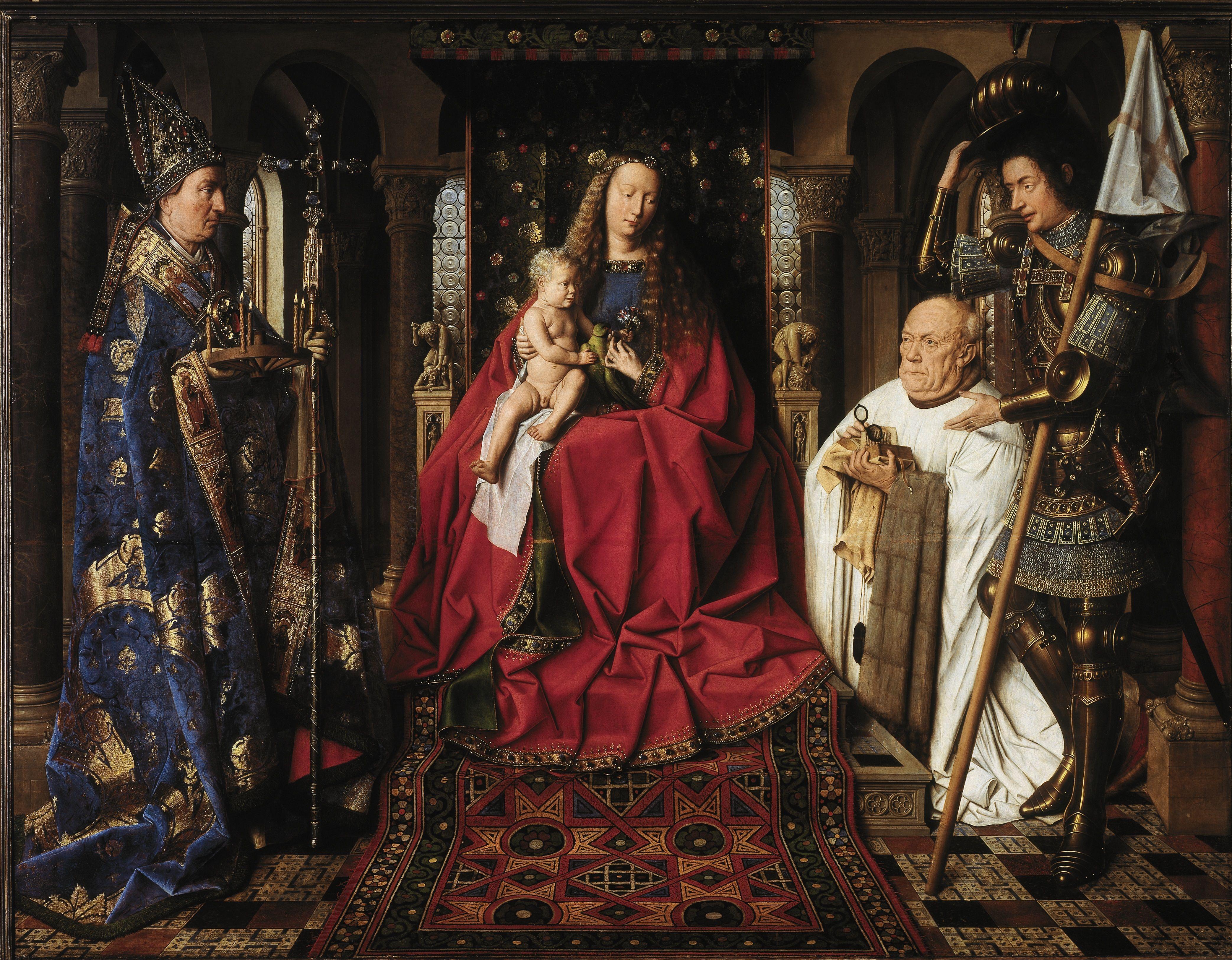 Van Eyck Jan Van Eyck Renaissance Paintings Art