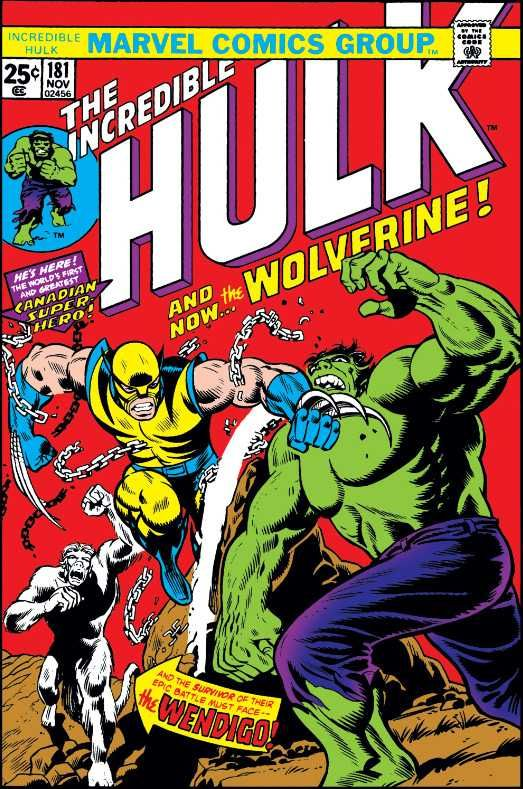 f043a6c056385 The Incredible Hulk  181 - And Now...The Wolverine! (Issue)   Marvel ...