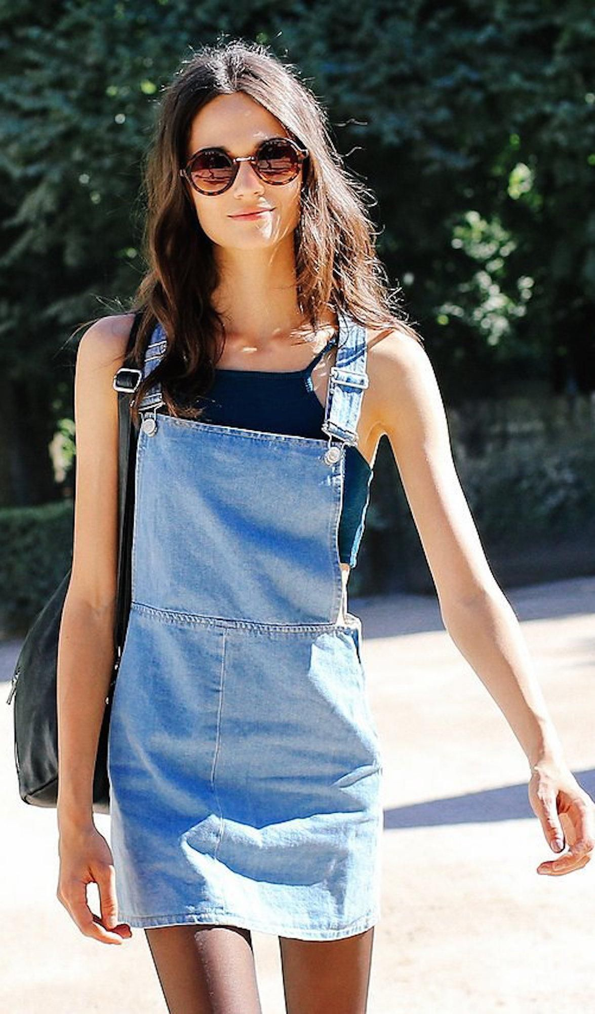 82f426c3a0d Why the Denim Dress Is the Perfect Transition Piece for Fall