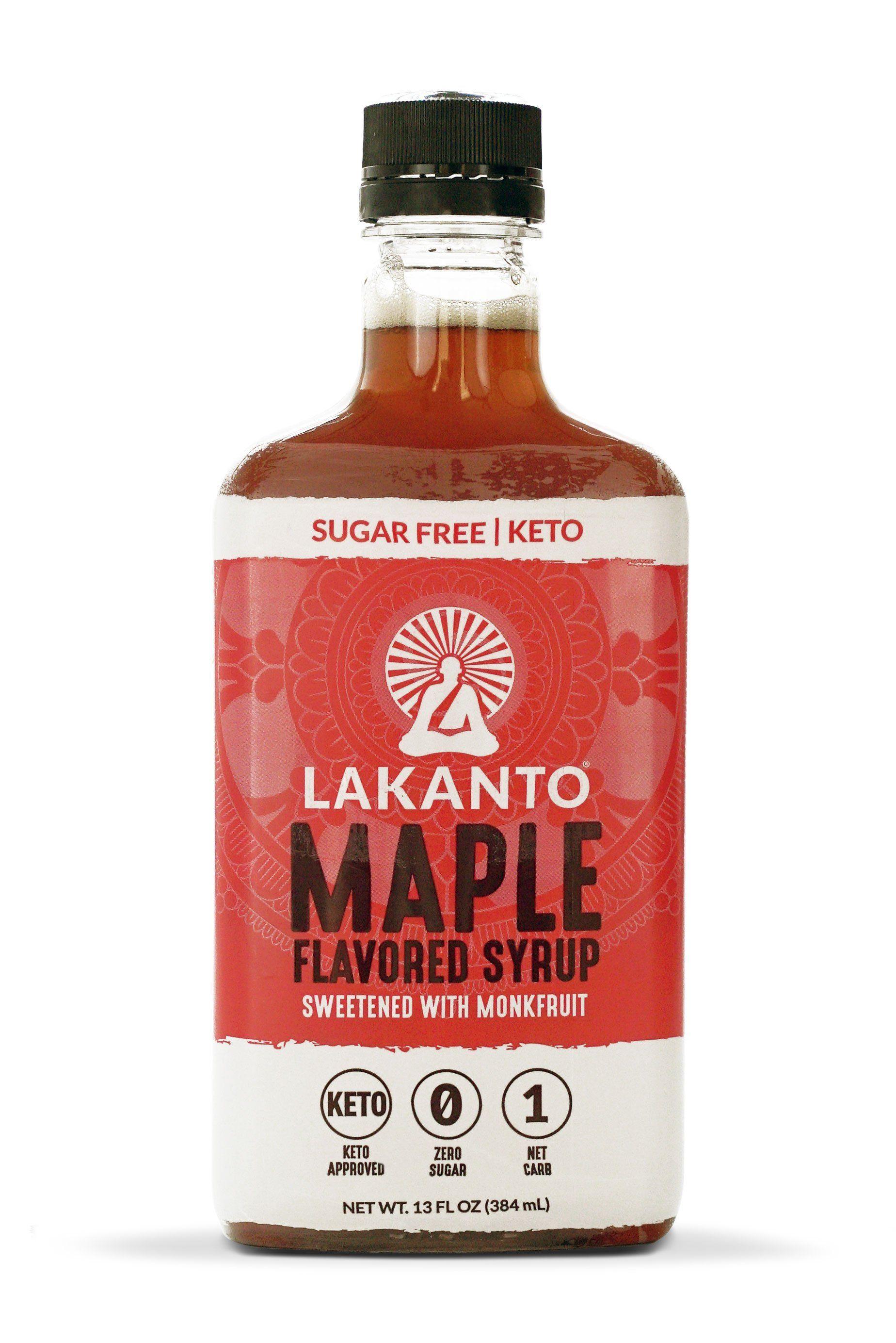 Thomas Delauer Lakanto Bundle Sugar Free Maple Syrup Sugar Free Lakanto