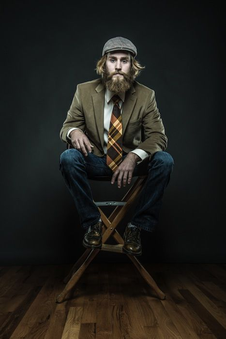 Of Beards and Men: Portraits of Men and Their Beloved