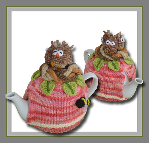 Owls in a Nest Tea Cosy | Teteras y Costura