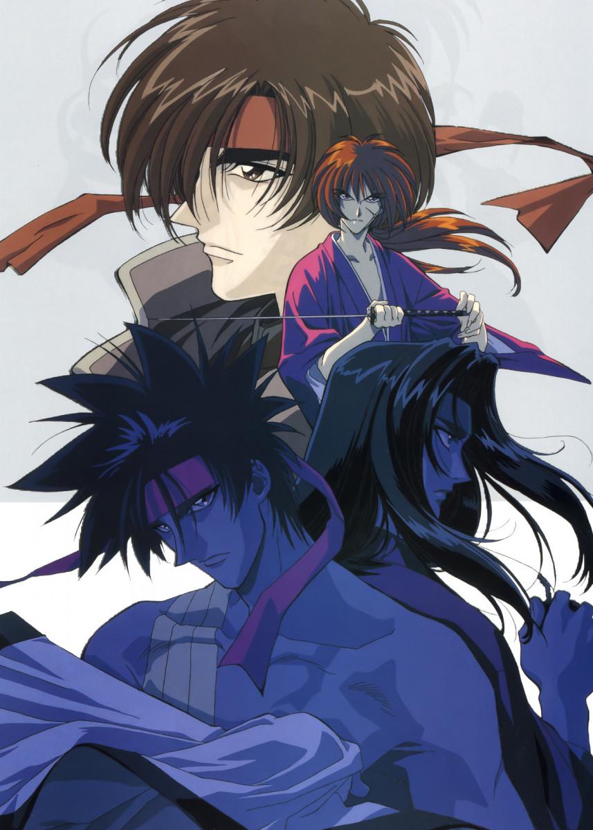 'Anime Samurai X Sanosuke' Metal Poster Print Team